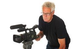 видео человека камеры Стоковые Фото