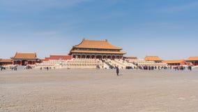 видео hyperlapse 4k запретного города в Пекине сток-видео