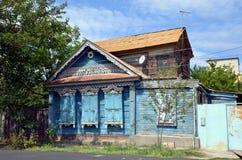 Виды на город Астрахани Стоковое Изображение RF