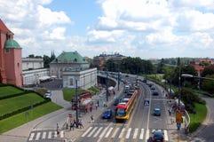 Виды на город Варшавы Стоковые Фото