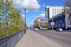 Виды на город Казани Стоковое Изображение