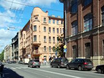 Виды на город Санкт-Петербурга Стоковое фото RF