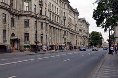 Виды на город Санкт-Петербурга Стоковые Фото