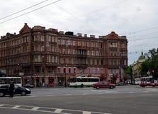 Виды на город Санкт-Петербурга Стоковые Изображения RF