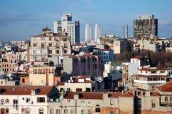 Виды на город Стамбула Стоковые Фото