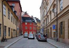 Виды на город Стокгольма Стоковое Изображение