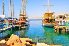 Вид в Eilat Стоковая Фотография