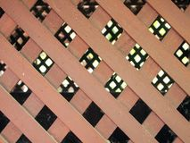 Вид деревянных стен Стоковые Фотографии RF