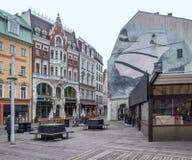 Вид на город Риги стоковая фотография