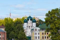 Вид на город, Kostroma Стоковая Фотография RF