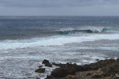 Вид на океан на северозападном побережье острова орхидеи Lanyu стоковое фото
