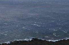 Вид на океан на северозападном побережье острова орхидеи Lanyu стоковое изображение rf
