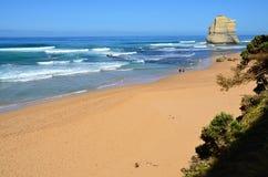 Вид на океан с массой утеса 12 апостолов Австралии Стоковое Фото