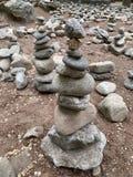 Вид предпосылки камней стоковая фотография