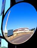 вид сзади зеркала Стоковое Фото