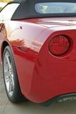вид сзади corvette Стоковое Изображение RF