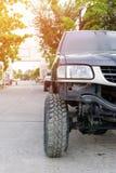 Вид спереди грузового пикапа Стоковое фото RF