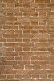 Вид спереди кирпичной стены Стоковые Изображения