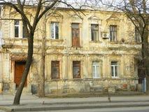 Вид спереди старого здания Стоковое Изображение RF