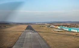 Вид с воздуха авиапорта Pribram весной Стоковая Фотография RF