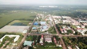 Вид с воздуха арены герцога chau - городка Ngai Giao стоковое изображение