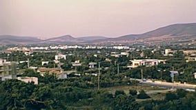 Вид с воздуха Афина сток-видео