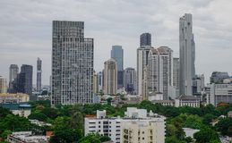 Вид с воздуха Бангкок, Таиланда Стоковые Фото
