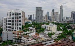 Вид с воздуха Бангкок, Таиланда Стоковая Фотография RF