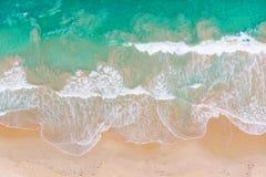Вид с воздуха волны стоковое фото rf