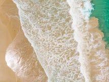 Вид с воздуха волны стоковое изображение rf