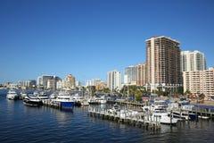 Вид с воздуха горизонта Fort Lauderdale Стоковые Изображения RF