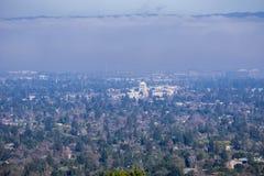 Вид с воздуха горного вида и альтов Лос Стоковое Изображение