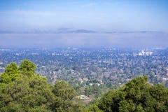 Вид с воздуха горного вида и альтов Лос Стоковые Изображения