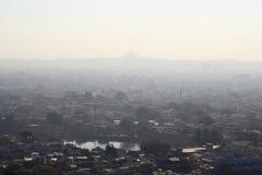 Вид с воздуха города Джодхпура Стоковая Фотография RF