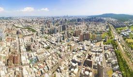 Вид с воздуха города kaohsiung taiwan Стоковые Изображения