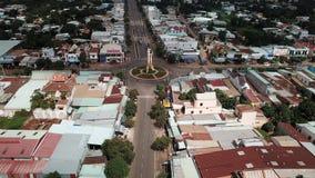 Вид с воздуха городка Ngai Giao стоковые изображения