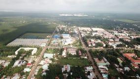 Вид с воздуха городка Ngai Giao стоковое фото rf