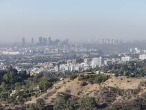 Вид с воздуха городского пейзажа westwood стоковые изображения rf