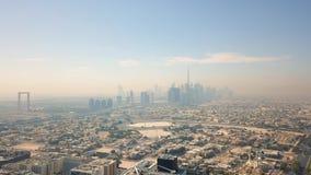 Вид с воздуха Дубай сток-видео
