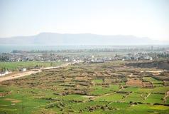Вид с воздуха красивейших домов на Lijiang в Китае Стоковые Изображения RF