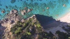 Вид с воздуха лефкас видеоматериал