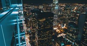 Вид с воздуха Лос-Анджелеса, CA Стоковая Фотография