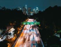 Вид с воздуха Лос-Анджелеса, CA Стоковые Фотографии RF