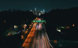 Вид с воздуха Лос-Анджелеса, CA Стоковая Фотография RF