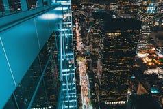 Вид с воздуха Лос-Анджелеса, CA Стоковые Изображения RF