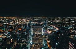 Вид с воздуха Лос-Анджелеса, CA Стоковые Фото