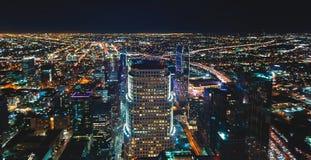 Вид с воздуха Лос-Анджелеса, CA Стоковые Изображения