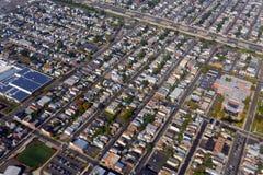 Вид с воздуха Ньюарка, Нью-Джерси, США стоковое изображение