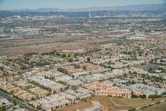 Вид с воздуха области Playa del Rey стоковые изображения rf