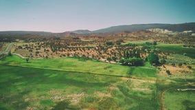 Вид с воздуха открытой сельской местности в Torrey, Юте стоковые фото